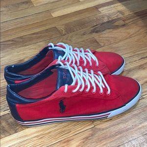 "Fashionable polo shoe at size""9"""